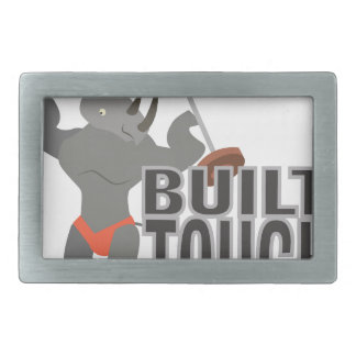 Built Tough Rectangular Belt Buckle