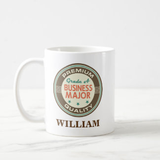 Buisness Major Personalized Office Mug Gift