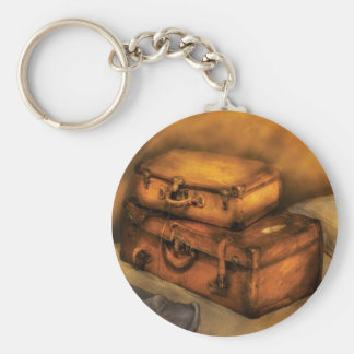 Buisness Man - Packed Suitcases Keychain