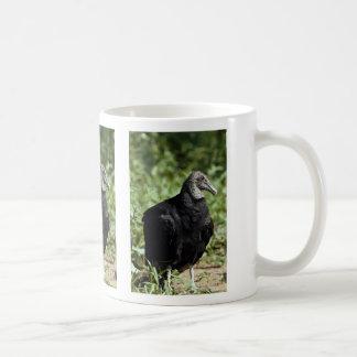 Buitre negro taza de café