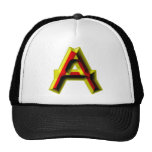 Bujeto Alphabet A Hats