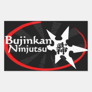 Bujinkan Ninjutsu Rectangular Sticker