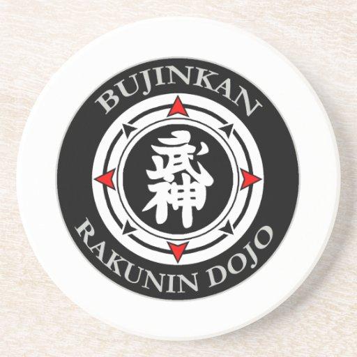 Bujinkan Rakunin Dojo (Kyu) Coaster