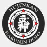Bujinkan Rakunin Dojo (Kyu) Sticker