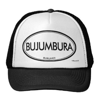 Bujumbura, Burundi Trucker Hats