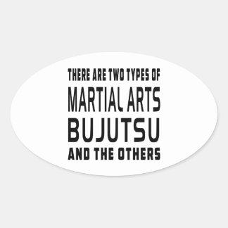 Bujutsu Martial Arts Designs Stickers