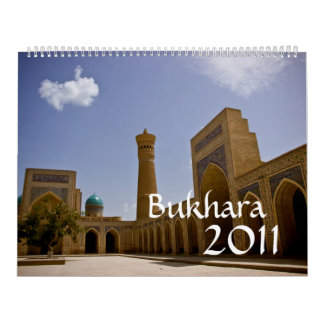 Bukhara 2011 Calendar