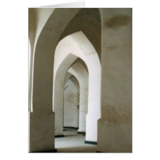 Bukhara Arches v2 Stationery Note Card