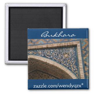 Bukhara blue tile arch magnet