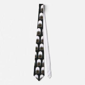 Bukhara courtyard tie