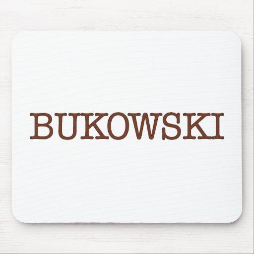 Bukowski Alfombrillas De Ratones