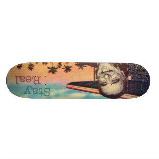 Bukowski Board Custom Skate Board