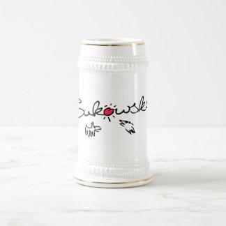Bukowski - cerveza Stein Jarra De Cerveza
