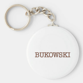 Bukowski Keychain