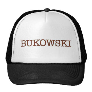 Bukowski Trucker Hat