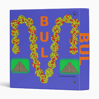 Bul game binder blue