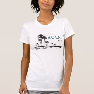 Bula Fiji Palm Tree Graphic Shirt