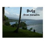 Bula From Paradise Post Card