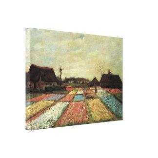 Bulb Fields by Vincent van Gogh Canvas Print