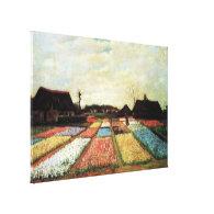 Bulb Fields by Vincent van Gogh. Canvas Print