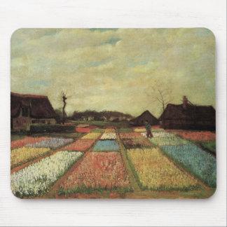 Bulb Fields by Vincent van Gogh. Mouse Pad