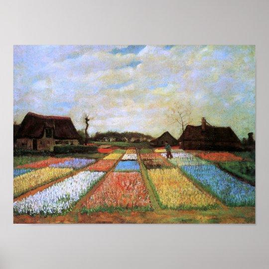 Bulb Fields Holland (F186)Van Gogh Fine Art Poster