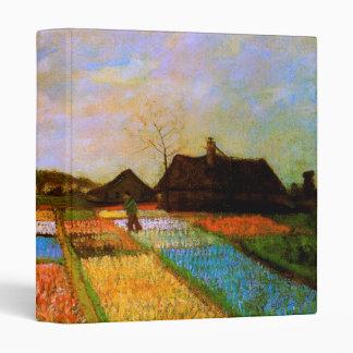 Bulb Fields Holland Van Gogh Fine Art Binder
