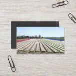 Bulb Flowers Field Spring Landscape Business Card