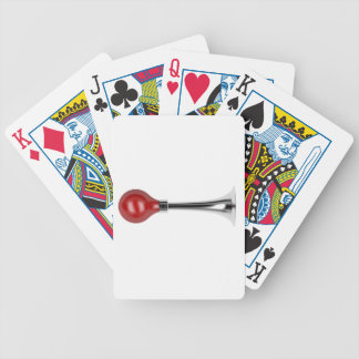 Bulb horn bicycle playing cards
