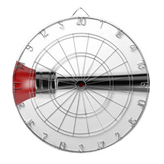 Bulb horn dartboard
