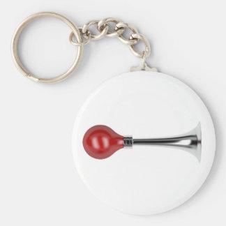 Bulb horn keychain