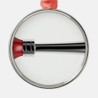 Bulb horn metal ornament
