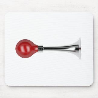 Bulb horn mouse pad