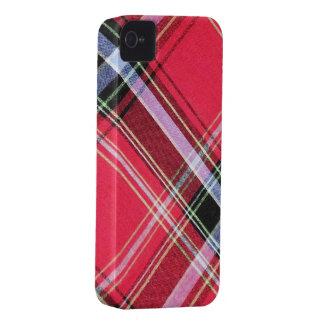 Bulberry negro/rosado de Africankoko iPhone 4 Case-Mate Funda