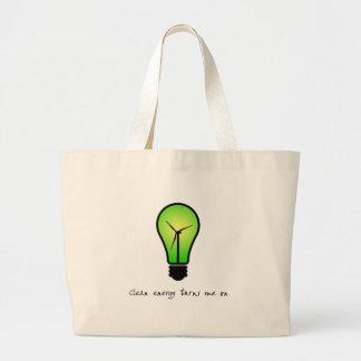 Bulbo de la energía limpia - la bolsa de asas