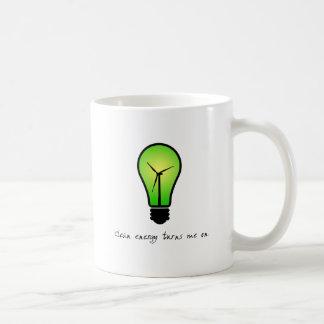 Bulbo de la energía limpia - taza
