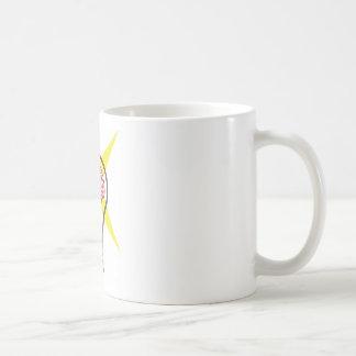 Bulbo del cerebro taza de café