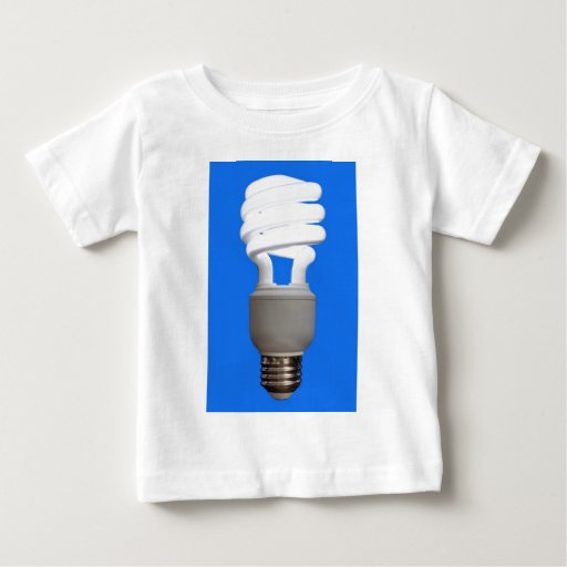 Bulbo fluorescente compacto remeras