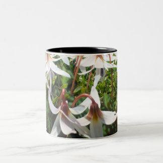 Bulbos de la primavera en taza de la flor
