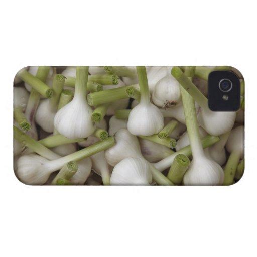 Bulbos del ajo Case-Mate iPhone 4 protectores