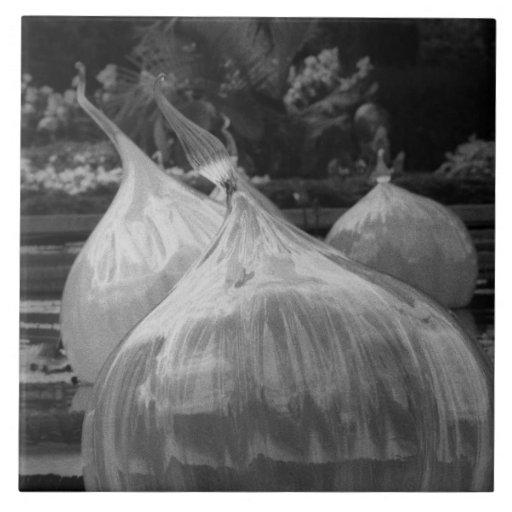 Bulbos flotantes azulejo cuadrado grande