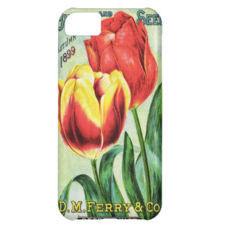 Bulbs and Seeds Red and Yellow Tulip iPhone 5C Case