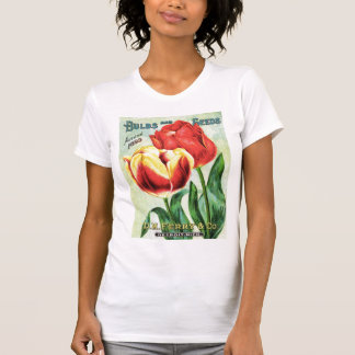 Bulbs and Seeds Red and Yellow Tulip Tee Shirt