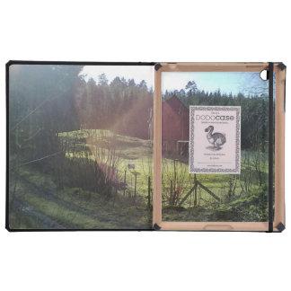 Bulding and sheep iPad case