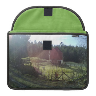 Bulding and sheep stor MacBook pro sleeve