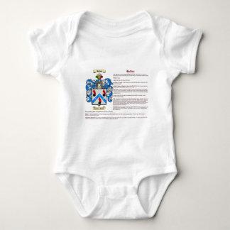 Bulduc (meaning) baby bodysuit