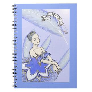 Bule Bird blue bird Notebook