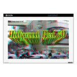 """Bulevar 3D 17"""" de Hollywood mac y PC de la piel de Portátil 43,2cm Skin"""