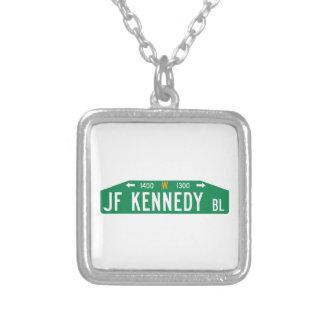 Bulevar de JF Kennedy, Philadelphia, placa de Pendiente Personalizado