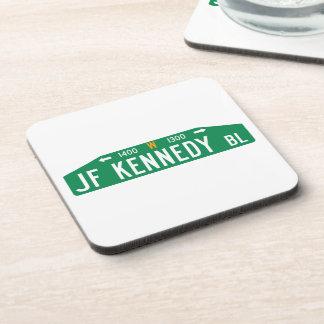 Bulevar de JF Kennedy, Philadelphia, placa de Posavaso